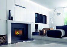 FIREPLACE INSERT BASIA 6,8 - 17 kW WOOD BURNING CASSETTE INSET STOVE!