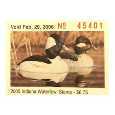 2005 Indiana State Duck Waterfowl Stamps (MNH) U.S. (IN30) (200 NOS Mint Stamps)