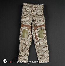 HOT FIGURE TOYS 1/6 Navy Seals Desert digital camouflage women Combat trousers