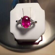 Ruby ring18kt yellow &&white gold