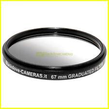 67mm. filtro digradante grigio ND Blackdove Graduated Neutral density vite M67