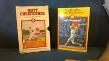 Baseball Stories, Matt Christoper Gift Present Box Handmade Diversion Safe Book