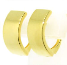 70ac985e6052 Pendientes Aros Plegable Creoles 585 Oro Amarillo 14 Quilates Nuevo