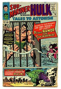 Tales To Astonish #70 1965 Marvel Comics Silver Age Namor and Hulk