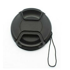 58mm Front Lens Cap Hood Snap Cover For Canon Sony Nikon Fuji Camera Accessory
