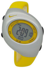 New Nike Kids Triax Junior WR0017 Yellow Digital Sports Chronograph Watch