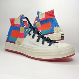 Converse Mens Chuck 70 High Chinese New Year Patchwork Shoes Size 10.5 170565C