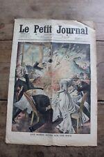 Petit journal dibujada 988 1909 Aerosol muelle en un Noce Nuevo Canon Alemana