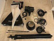 Interfit EX150 Studio Flash with accessories used but in good condition.