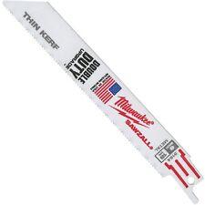 "Milwaukee Reciprocating Saw Blade SAWZALL® Blades 6"" x 3/4"" 18TPI (100 Pack)"