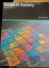Math in Society  Edition 1.1, Revision 4 by David Lippman (2011, Paperback)