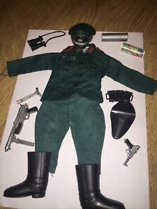 Vintage Action Man German Staff Officer Uniform Lot