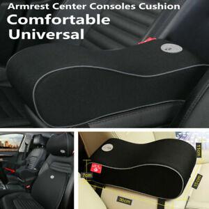 1PC Car Armrest Pad Pillow Super Soft Cover Center Console Arm Rest Seat Box Pad