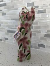 Diane Artware Ceramic Vase New Orchid Lady Dress