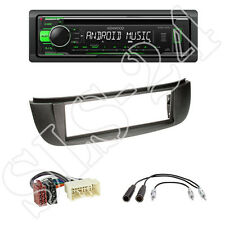 Kenwood KDC-110UG USB CD Radio + Nissan Almera Tino (V10) + ISO Adapter Set