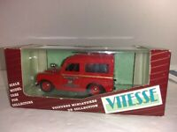 VITESSE. LAND ROVER S1 SWB.HARD TOP. MANCHESTER FIRE BRIGADE..   1/43. BOXED.