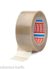 0,10€/m tesa 4122 25mm x 66m TRANSPARENT 88µ DICK PVC Klebeband Paketklebeband