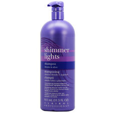 Clairol Shimmer Lights shampoo 31.5 oz w/Free Nail File