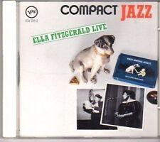 (BK84) Ella Fitzgerald, Live - CD