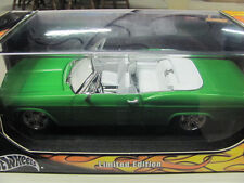 "HOT WHEELS ""LIMITED EDITION"" 65 CHEVY IMPALA 1/18 SCALE ""MODIFIED"""