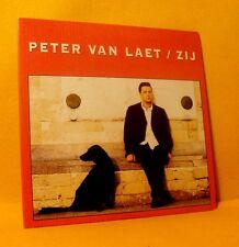 Cardsleeve Single CD PETER VAN LAET Zij 2TR 1996 dutch MAMA'S JASJE
