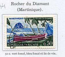 TIMBRE FRANCE OBLITERE N° 1644 ROCHER DU DIAMANT MARTINIQUE