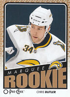 09/10 O-PEE-CHEE OPC ROOKIE RC #781 CHRIS BUTLER SABRES *21609