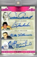 RESCH/GIACOMIN/GILBERT/MELOCHE++++ 8 AUTO 2019-20 Leaf Superlative GOALIES #4/12