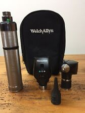 Welch Allyn 3.5V Otoscope 20000A & Ophthalmoscope 11720 Diagnostic Set C Cell