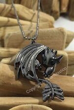 How To Train Your Dragon 2 TOOTHLESS NIGHT FURY Necklace - UK Stock