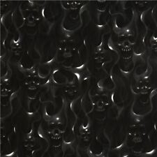"""""""SKULLS ON FIRE"""" Fabric by Alexander Henry-100% Cotton-By the Yard"""
