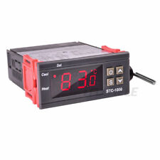 Digital Temperature Controller Stc 1000 220v 12v Two Relay Thermostat Controller