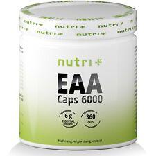 EAA Caps 6000 - HOCHDOSIERT - Essential Amino - Essentielle Aminosäuren mit BCAA