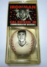 Vintage Cal Ripken Commemorative Baseball Fotoball NEW Baltimore Orioles MLB