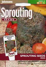 Johnsons - Pictorial Pack - Vegetable - Alfalfa (Sprouting Seed) - 25g Seeds