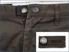 Dark Brown Pants Shorts Skirt Jeans Trouser Waist Line Extender Widen Button