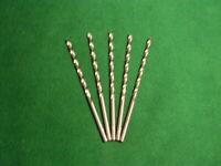 Lange Spiralbohrer DIN 340 HSS-G geschliffen 2,0-13,0 mm extra lang Stahlbohrer