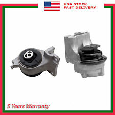 Set 2PCS 5571 5653 Engine Motor & Trans Mount For Ford Fusion Lincoln MKZ 3.5L