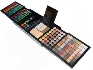 177 Color Eyeshadow Palette Blush Lip Gloss Makeup Cosmetic Set Kit Professional