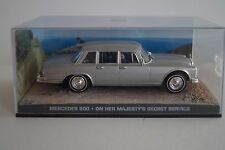 Maqueta de coche 1:43 James Bond 007 mercedes 600 * On Her Majesty 's Secret Service