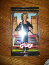 GREASE Sandy Black Leather 25th Anniversary Barbie Olivia Newton John