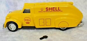 Limited Edition 1938 Dodge Airflow Tanker Die-Cast Metal Locking Bank SHELL LOGO