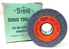 "SIOUX, VALVE SEAT GRINDING WHEEL, K-115AA, MAX RPM 7500, 3 1/16"" OD, 45 GRIT"