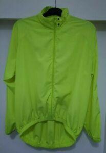 Hi Vis / Hi Visibility Cycling Jacket/Top Full Frint Zip With Rear Air Vent FP