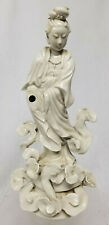 Antique Vintage 20th Century Chinese Blanc De Chine Guanyin Kwanyin Figure