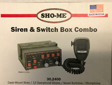 New ListingSho-me Siren/Switch box Combo 30.2400