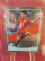 Eden Hazard Lille Real Madrid France Foot 2011 Panini Foil 2nd Rookie Sticker
