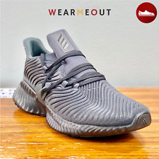 "Size 11-Adidas Alphabounce Instinct BLACK CARBON ""TRIPLE BLACK"" MENS Sneakers"