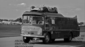 Ecurie Ecosse automobile transporter racing team 1956 24 Hour or Le Mans photo