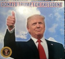 DONALD TRUMP FOR PRESIDENT MUSIC CD, 2016 PRESIDENTIAL CAMPAIGN CD (unofficial)